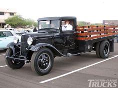Make a movie, follow through on ideas for classic truck chase movie.  Custom Classic Trucks Magazine #trucks #classicpickuptrucks