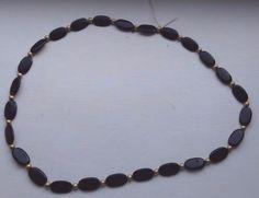 Handmade-Vintage-Black-Costume-Jewellery-Necklace
