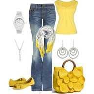 yellow is one of my new favs for clothes i think!
