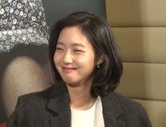 Kim Go Eun Style, Korean Short Hair, Korean Star, Gong Yoo, My Little Girl, Kpop Aesthetic, Girl Crushes, Hair Designs, Korean Actors