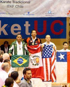 Campeonato Panamericano de Karate Tradicional ITKF. Club Arabe Palestino Santiago de Chile 2011.