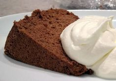 Chocolate Angel Food Cake | The Spiced Life