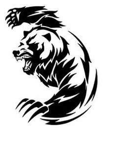 Bildergebnis für tatuaje oso tribal