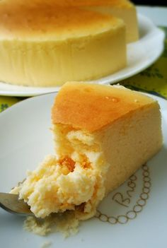 Moist and Rich Half-Baked Souffle Cheesecake