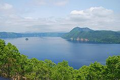 Mashū-ko crater lake formed in the caldera of a potentially active volcano. It is located in Akan National Park on the island of Hokkaidō. The lake has been called the clearest lake in the world.