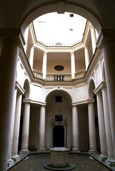 Borromini. Monasterio e Iglesia de San Carlo alla Quattro fontana. (1634- 1665) Claustro