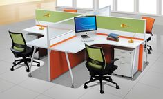 Modular 'L' Type Panel Based Workstation online India from Indian vendors at RollingLogs. Workstation screens are the screens which acts as a barrier or a partition in between the work place Modular Workstations, Office Workstations, Open Office, Office Desk, Used Cubicles, Kids Homework Station, Used Office Chairs, Modular Office, Office Cubicle
