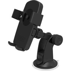 iOttie - Easy One Touch Windshield/Dashboard Car Mount Holder for Select Cell Phones - Black, HLCRIO102