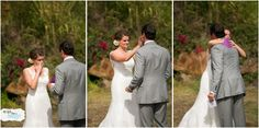 First Look Photos Linden and Brett's Maui Wedding | Hawaii Wedding Photographer Planned by Hawaii Weddings by Tori Rogers at the Hale Ko'olani Estate http://www.hawaiianweddings.net