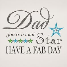 IS26 Dad You're A Star