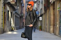 //Relaxed and Cool Style//   NEON BEANIE   My Daily Style en stylelovely.com