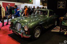 #Aston_Martin DB 2/4 au salon Retromobile à #Paris Reportage complet : http://newsdanciennes.com/2016/02/08/grand-format-retromobile-2016/ #Vintage #VintageCar