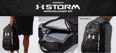 Best school bag Under Armour Storm Hustle II Backpack Cool School Bags, Best Travel Backpack, Tent Reviews, Best Tents For Camping, Cool Backpacks, Laptop Sleeves, Gym Bag, Under Armour, Hiking