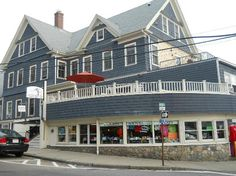 Our fourth stop! Woods Hole Inn, Cape Cod