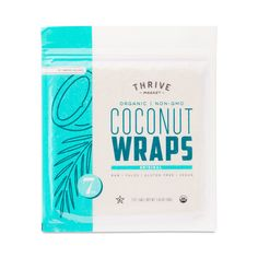 These wraps are ready to roll. Mild in flavor and slightly sweet from organic ingredients like coconut meat, coconut water, and extra virgin coconut oil, they're a perfect stand in for tortillas and bread. Each pack contains seven gluten-free, raw, vegan,