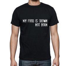 Vegan tee shirt Cruelty free world vegan by RAWVOLUTION on Etsy