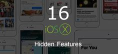 Apple, at WWDC 2016, showcased 10 fresh features of iOS 10 which are simply incredible but there are several other amazing features of it which weren't covered by the event.  Checkout Top 16 Hidden Features of #iOS10 that Apple Didn't Announce