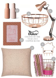 OUR TOP PICKS FOR COPPER BLUSH HUES IN YOUR HOME THIS SPRING!