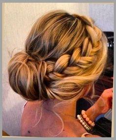 side braid into bun With regard to Your hairdo
