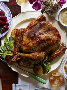 Herb and Citrus Butter Roasted Turkey - GoodHousekeeping.com