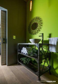 baño: Baños de estilo Industrial por MARIANGEL COGHLAN