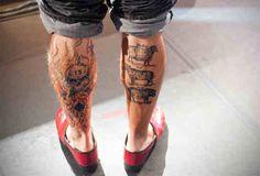 Leg Tattoo # 34