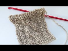 YouTube-How to crochet Tunisian Cables