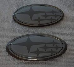 Image result for subaru badge black on black
