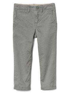 san francisco 45dee a015c Solid stretch khakis   Gap