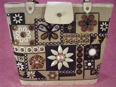 Enid Collins ~ Jewel Patch bag