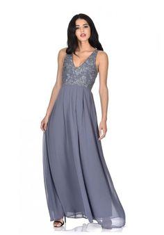 Pewter Maxi Dress