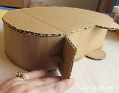Hometalk :: Happy Camper Valentine Card Box use this as the base for a fairy camper