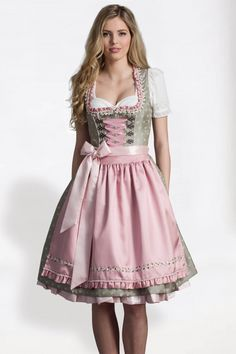 Huge Dirndl selection ♥ for the Oktoberfest 2020 Oktoberfest Outfit, Traditional Fashion, Traditional Dresses, Traditional German Clothing, Maid Dress, Dress Up, Dirndl Outfit, Beautiful Costumes, Feminine Dress