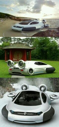 De auto van de toekomst!! :)