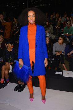 Solange Knowles - Milly By Michelle Smith - Front Row - Mercedes-Benz Fashion Week Fall 2014