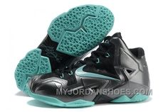 http://www.myjordanshoes.com/nike-lebron-11-black-jade-4gjjr.html NIKE LEBRON 11 BLACK/JADE 4GJJR Only $84.00 , Free Shipping!