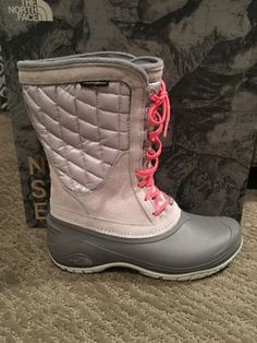 The North Face Women's ThermoBall Utility Mid Winter Boots Size 10 NIB