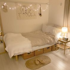 14 Trendy Bedroom Design and Decor Ideas for Your Next Makeover - The Trending House Room Ideas Bedroom, Small Room Bedroom, Home Bedroom, Bedrooms, Small Bed Room Ideas, Very Small Bedroom, Small Room Interior, Small Room Decor, Bedroom Inspo