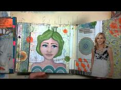Eclectic Altered Art Journals - YouTube