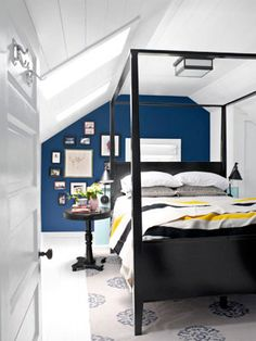 Attic bedroom | Country Living