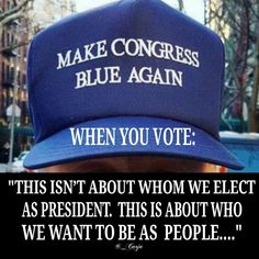 Vote blue... We Are Better Than This