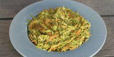 Sund coleslaw med avocado Coleslaw, Frisk, Mayonnaise, Pulled Pork, Lchf, Mozzarella, Guacamole, Feta, Dips