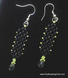 DIY Peyote Stitch with Twin Beads