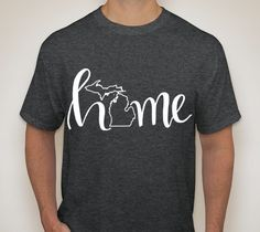 Unisex Michigan Home Shirt by SamanthaReneeDesigns on Etsy