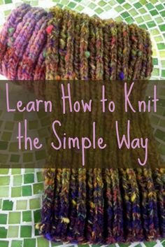 If you're a beginner knitter, then this ultimate, FREE guide on learning how to knit is perfect for you! #knitting #howtoknit #DIY