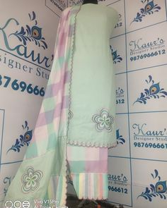 Embroidery Suits Punjabi, Embroidery Suits Design, Hand Embroidery Designs, Punjabi Suits Designer Boutique, Boutique Suits, Stylish Dress Designs, Stylish Dresses, Designer Party Wear Dresses, Embroidery Flowers Pattern
