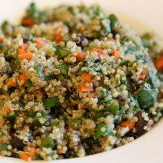 This vegan quinoa salad is so good you won't miss meat and dairy!