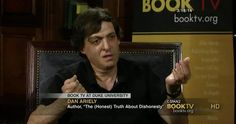 Book Discussion on The (Honest) Trust About Dishonesty Dan Ariely via @Booktv