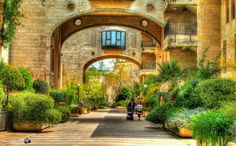 "Jerusalem, Mamila ""Davids Village"" (Photo: Matan Hirsch)"