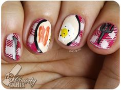 Nail-Art-A-Go-Go Day 8 - Still Life - Gnarly Gnails